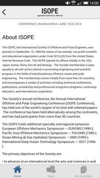 ISOPE Conference App screenshot 3