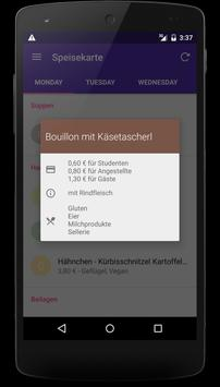 Speisekarte apk screenshot