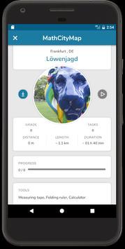 MathCityMap apk screenshot