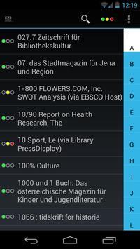 Mobile EZB screenshot 1