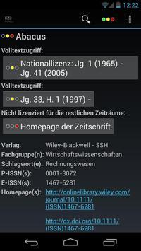 Mobile EZB screenshot 3