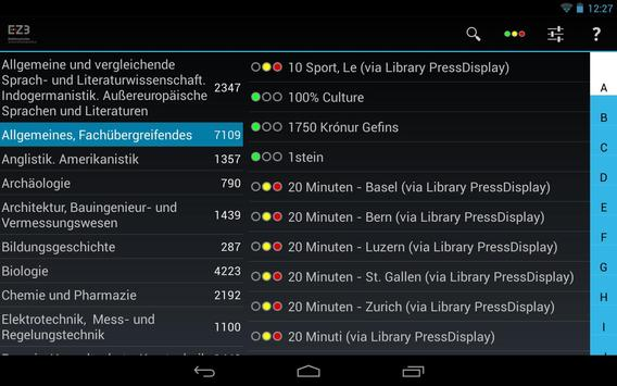 Mobile EZB screenshot 4