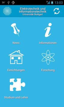 EI App - Uni Stuttgart poster