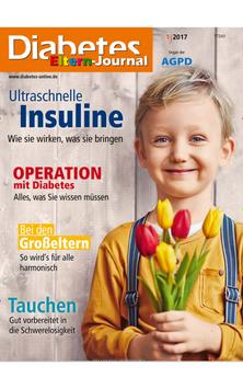 Diabetes Eltern-Journal-epaper poster