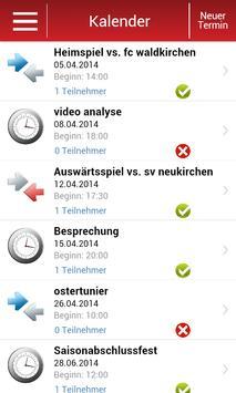 UnserTeam - Team Manager screenshot 1