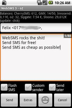 WebSMS: Werbelokal Connector apk screenshot