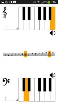 Notenschlüssel Übersetzer 截圖 1