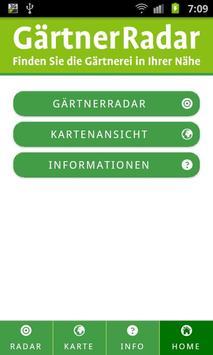 GärtnerRadar poster