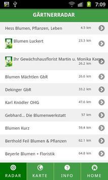 GärtnerRadar screenshot 1