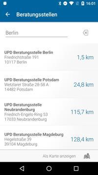UPD Beratungs-App apk screenshot