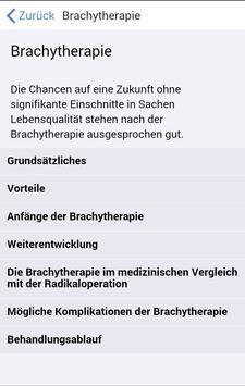 iBrachy bei Prostatakrebs screenshot 1
