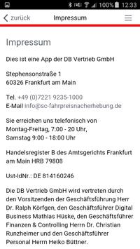 DB Fahrpreisnacherhebung screenshot 2