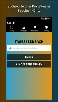 votingLAB - Tagesfeedback App poster