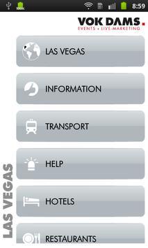 Las Vegas: VOK DAMS City Guide apk screenshot