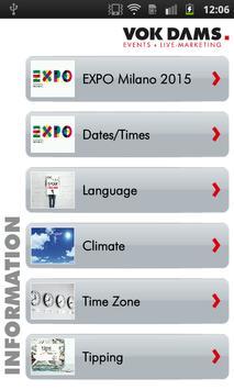 Milan: VOK DAMS City Guide apk screenshot