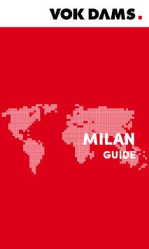 Milan: VOK DAMS City Guide poster