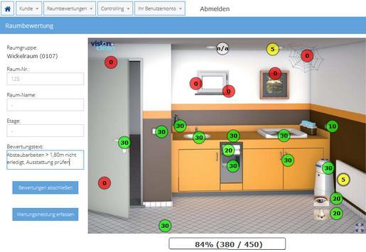 Visionclean Control apk screenshot