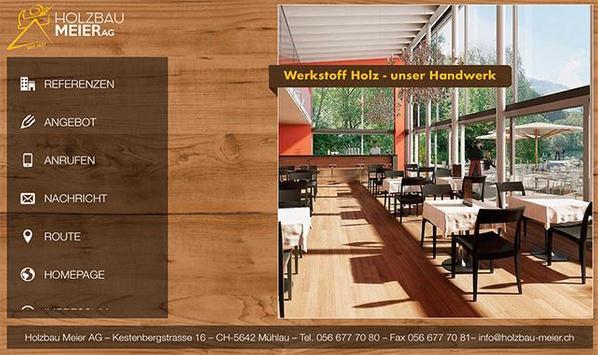 Holzbau Meier AG poster