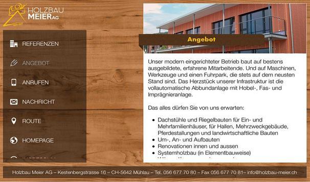 Holzbau Meier AG apk screenshot