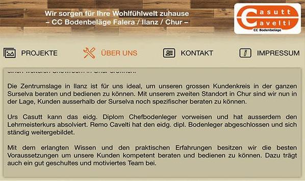 CC Bodenbeläge screenshot 1