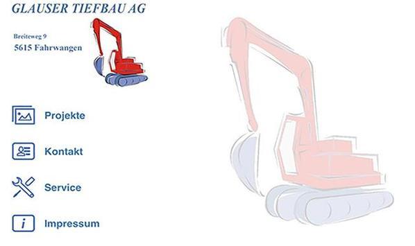 Glauser Tiefbau AG poster
