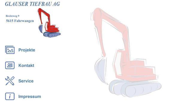Glauser Tiefbau AG screenshot 3