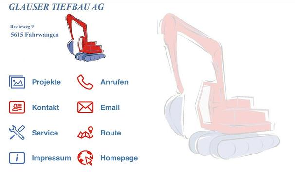 Glauser Tiefbau AG screenshot 8