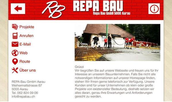 REPA Bau GmbH poster