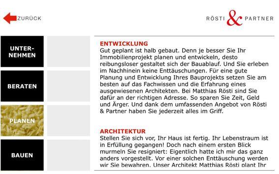 Rösti & Partner AG apk screenshot