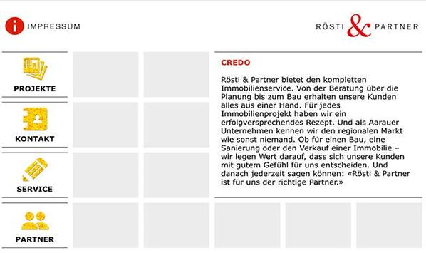 Rösti & Partner AG poster