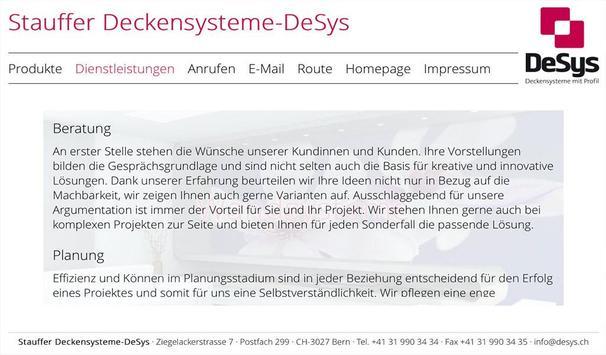 Stauffer Deckensystem DeSys apk screenshot