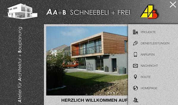 AA+B Schneebeli + Frei poster