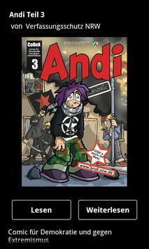 ANDI 3 - Linksextremismus poster