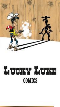 Lucky Luke Comics poster