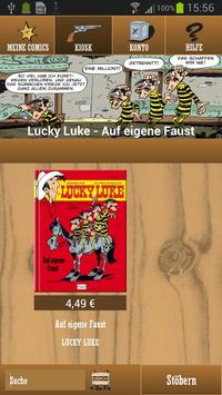 Lucky Luke Comics apk screenshot
