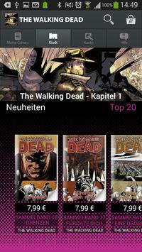 The Walking Dead Comics screenshot 1