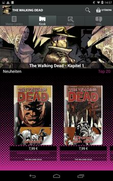The Walking Dead Comics apk screenshot