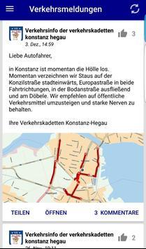 Verkehrsinfo Konstanz apk screenshot