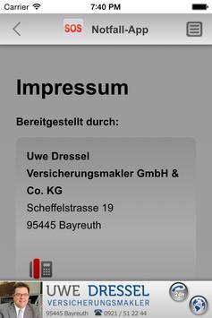 Notfall-App – Uwe Dressel apk screenshot