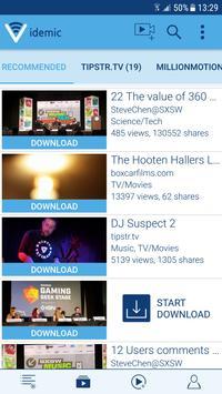 videmic  offline video sharing apk screenshot
