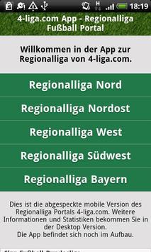 Fußball Regionalliga 4-liga.com poster