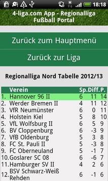 Fußball Regionalliga 4-liga.com screenshot 1