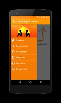 SSJ - Social Signal Jammer poster