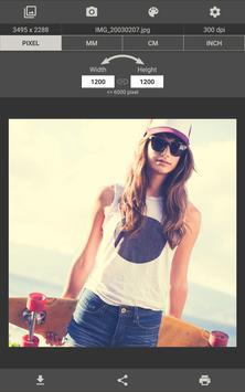 Image Size - Photo Resizer apk screenshot