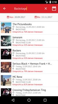 in münchen Eventguide apk screenshot