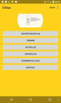 GSApp - Gymnasium Sonneberg poster