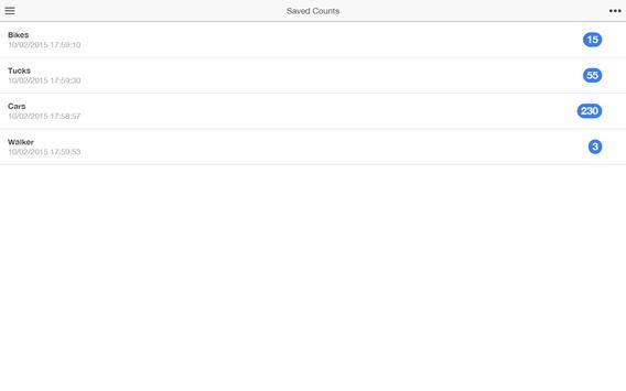 Tap Touch Counter apk screenshot