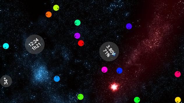 Vbatt - battery widget apk screenshot