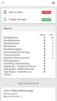 3 Schermata Meine Fahrschul-App
