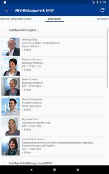 DGB-Bildungswerk NRW Seminare screenshot 17